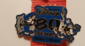 Mickey 'n' Minnie 80 Years pin