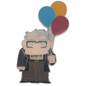 Carl with balloons - Disneyland Paris pin