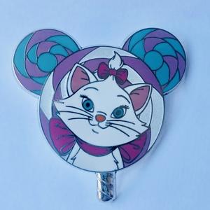 Marie - Lollipop Mystery pin
