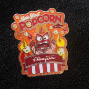 Anger HKDL popcorn pin  pin