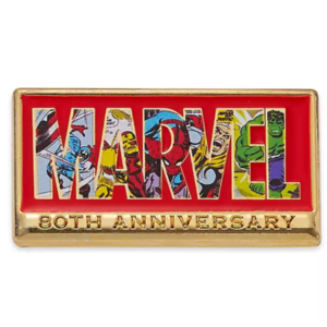 Marvel 80th anniversary pin