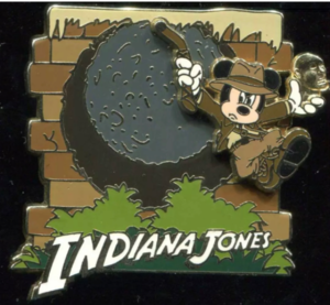 Mickey Mouse as Indiana Jones pin