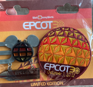 Epcot 30 pin & patch pin