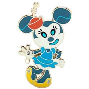 Minnie Mouse - Disney Store Mickey and Friends Robots Pin Set pin