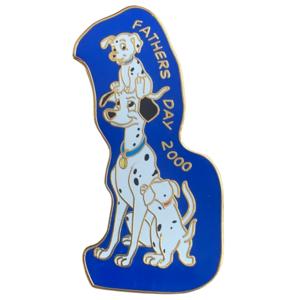 Dalmatian Father's Day 2000 pin