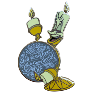 Lumiere - Try the Grey Stuff pin