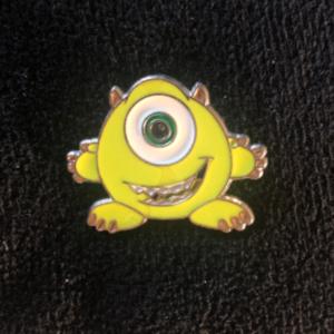Cute little Mike Wazowski pin