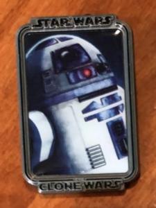 R2-D2 Clone Wars Mystery Portrait pin