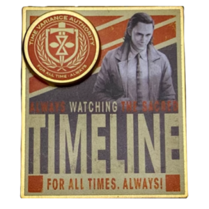 Loki Timeline Pin – Limited Release pin