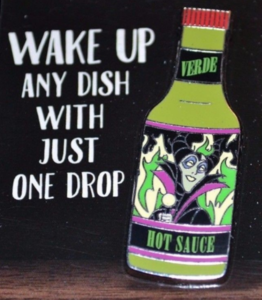 Maleficent Verde - Hot Sauce pin