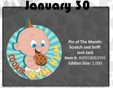 January 30th pin release