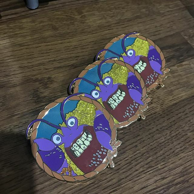 Tamatoa Fantasy Pin - by DisneyPinTraderUK