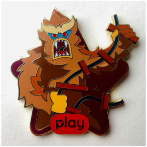 Play Disney Yeti pin