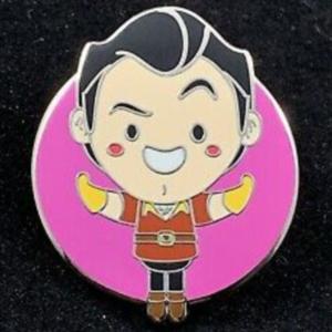 Gaston World of Evil pin