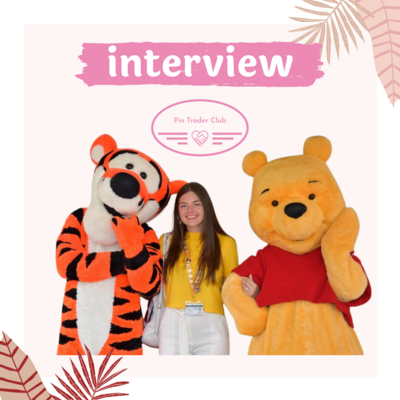 Interview with Clair about her pin collection