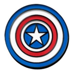 Golden Age - D23 Exclusive - 80th Anniversary Captain America pin