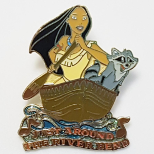 """Magical Musical Moments No. 14 - Pocahontas - """"Just Around the River Bend""""  pin"""