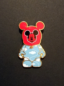 Red Mickey Balloon - Vinylmation Parks 1 pin