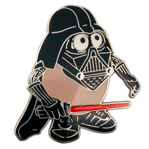 Mr Potato Head Darth Vader pin