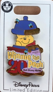 The Many Adventure of Winnie the Pooh 20th Anniversary Cast Member Pin pin