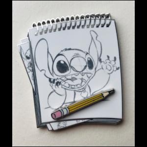 Stitch Sketch pin