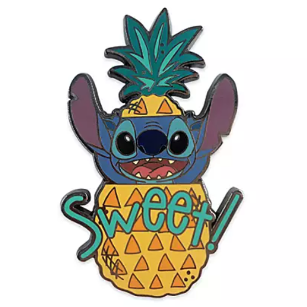 Stitch Sweet! pineapple - Disney Character Food Mystery Pin pin