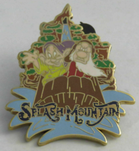 Splash Mountain - Walt Disney World Mystery Attractions pin