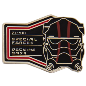Special Forces - First Order Booster Pin Set – Star Wars: Galaxy's Edge pin