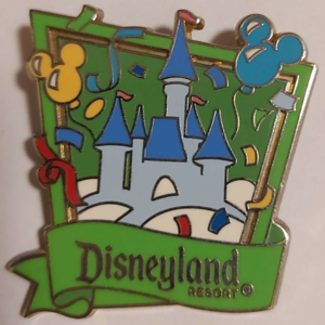 Disneyland Resort Cartoon Castle - Celebrate Everyday pin