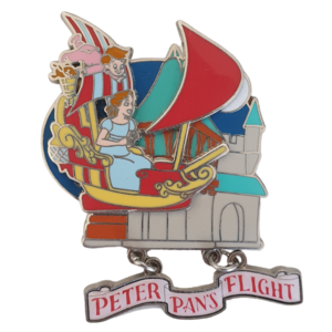 Wendy & Michael - Peter Pan's Flight - Fun Adventures pin