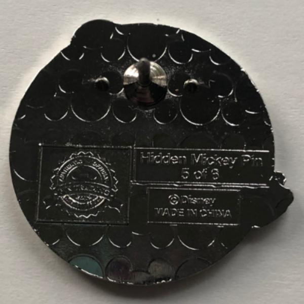 Tiana - Hidden Mickey Princess pin