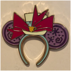 Minnie Mouse Main Attraction Mad Tea Party Ears pin