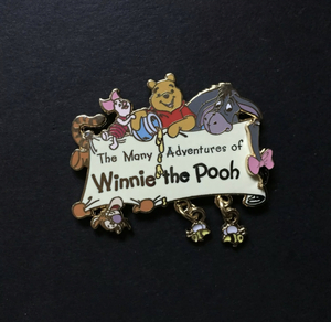 The Many Adventure's of Winnie the Pooh pin