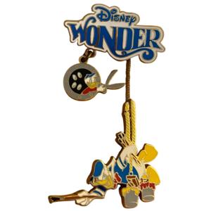 Disney Wonder - Donald Painting pin