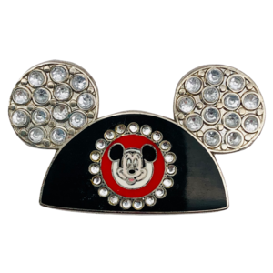 Mickey Mouse Ears Hat - Silver Jewels pin