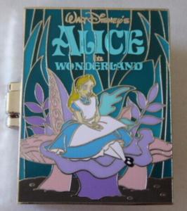 Alice in Wonderland - Pop Up Book pin