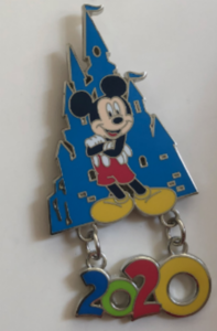 Disneyland Paris 2020 Dangle pin
