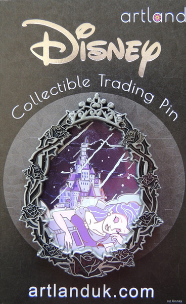 Belle Gothic Princess Artland pin