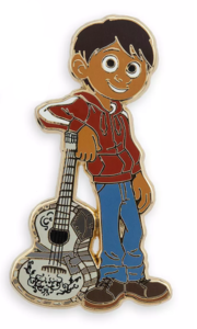 Miguel with guitar pin