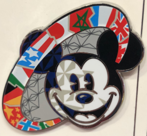 Flags of the Epcot World Showcase pin