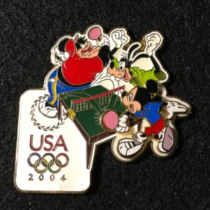 USA 2004 Olympic logo Table Tennis pin