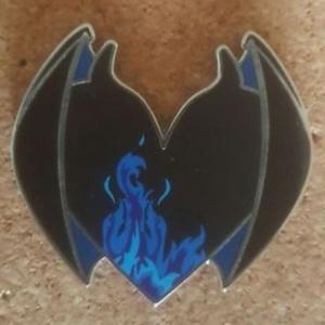 Chernabog - Be My Villaintine pin