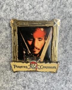 Pirates of the Caribbean - Captain Jack Sparrow Poster pin
