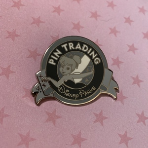 Tinker Bell (B&W) - Keep on Trading Mystery Collection pin