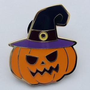 Boogieween 2020 witchy pumpkin pin