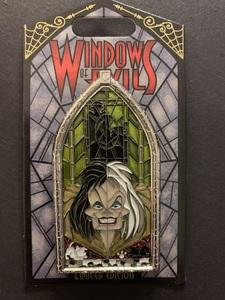 Cruella De Vil - Windows of Evil pin