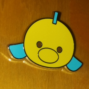 Flounder Tsum Tsum pin