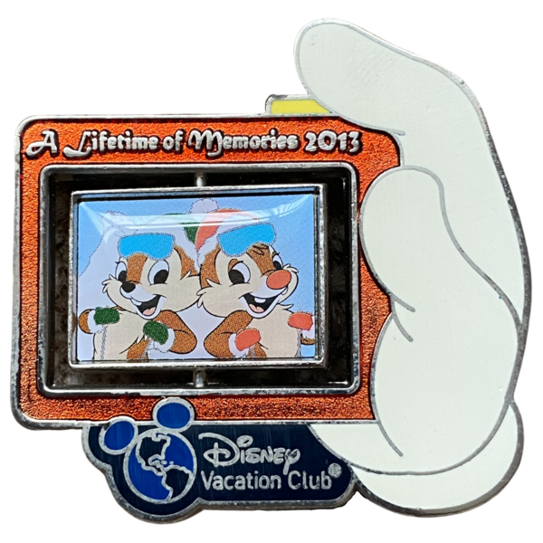 A Lifetime of Memories 2013 spinner pin