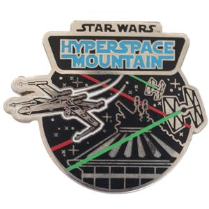 Star Wars Hyperspace Mountain - Disneyland Paris Attractions pin