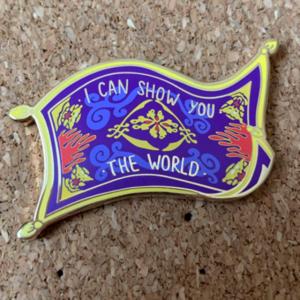 Magic Carpet - I Can Show You The World (Fantasy) pin